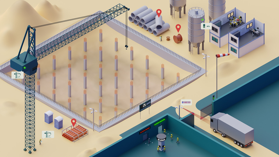 Totaaloplossing voor bouw en constructiebedrijven